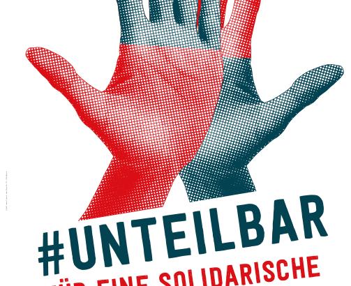 UNteilbar Demo Plakat